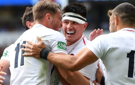 2d743cb15aa England enjoy double over Barbarians as men's XV follow up Red Roses'  victory