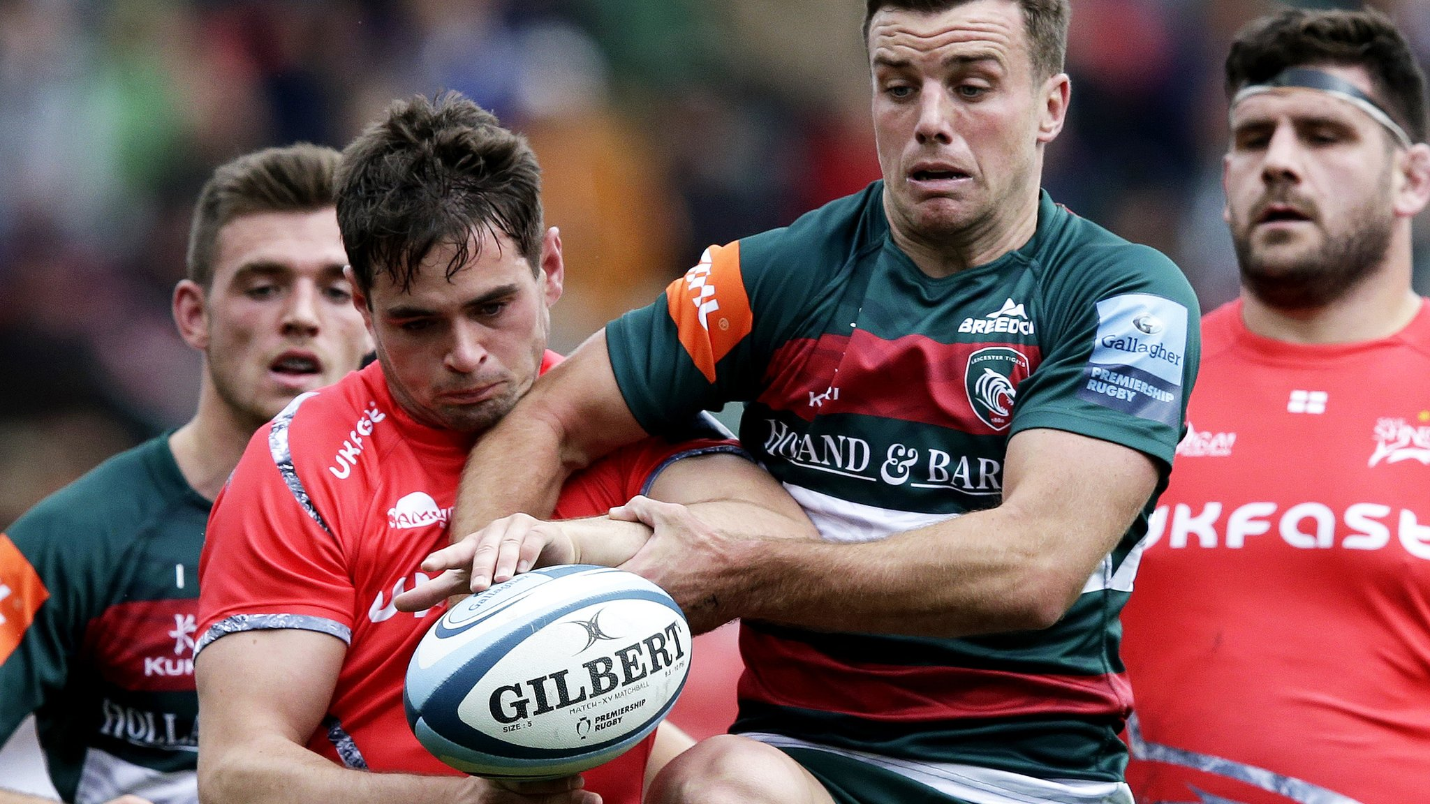 32f7f774a36 Premiership: Leicester Tigers 19-15 Sale Sharks - Dorset Wiltshire ...